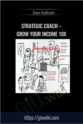 Strategic Coach – Grow your Income 10x  – Dan Sullivan