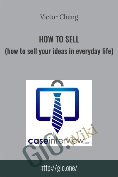 How to Sell - Victor Cheng