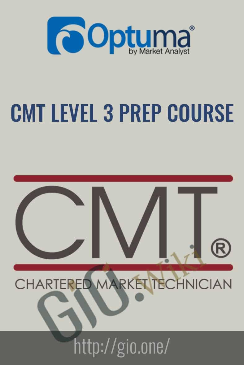CMT Level 3 Prep Course - Optuma