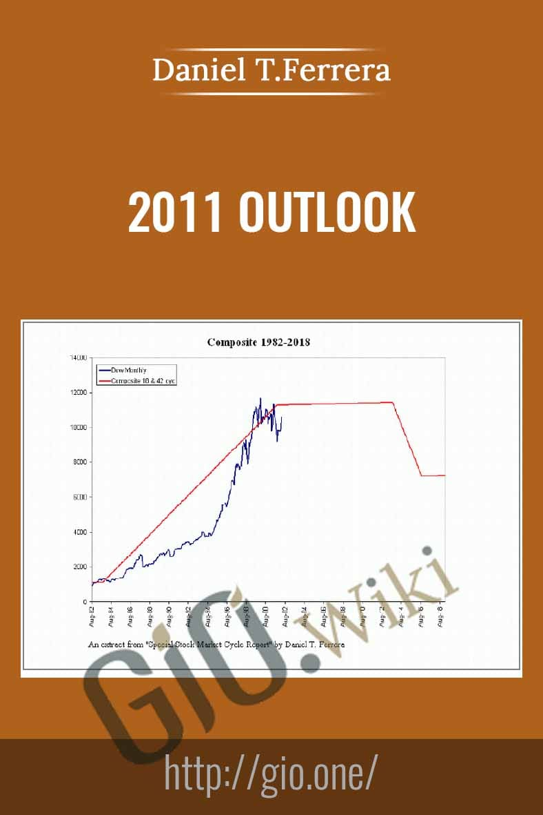 2011 Outlook - Daniel T.Ferrera