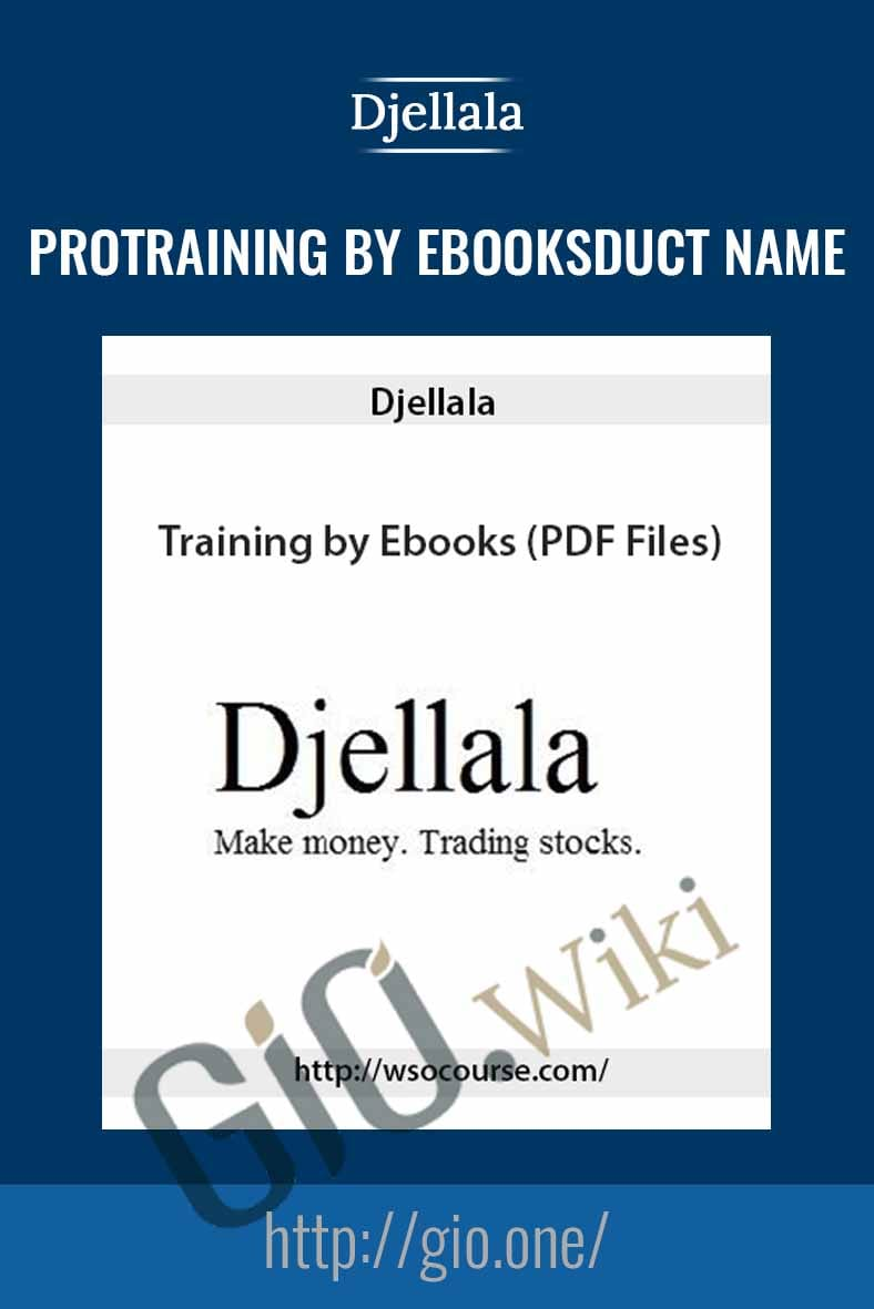 Training by Ebooks - Djellala