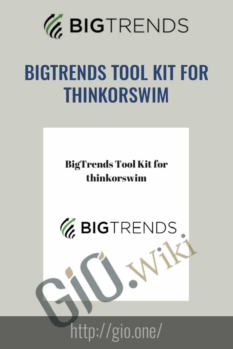 Tool Kit for Thinkorswim