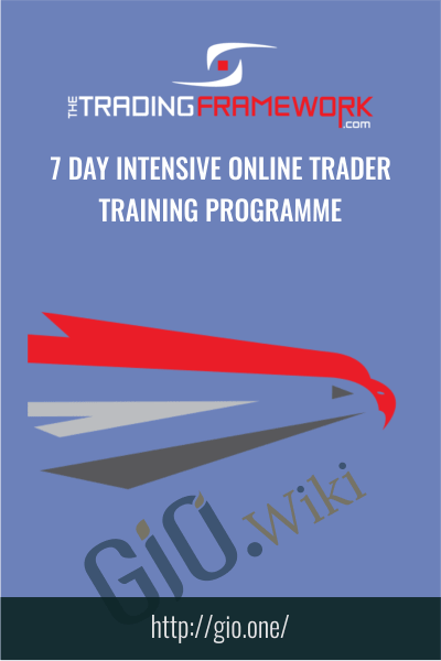 7 Day Intensive Online Trader Training Programme - The Trading Framework