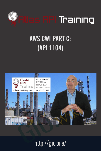 AWS CWI Part C (API 1104) - Atlas Api Training