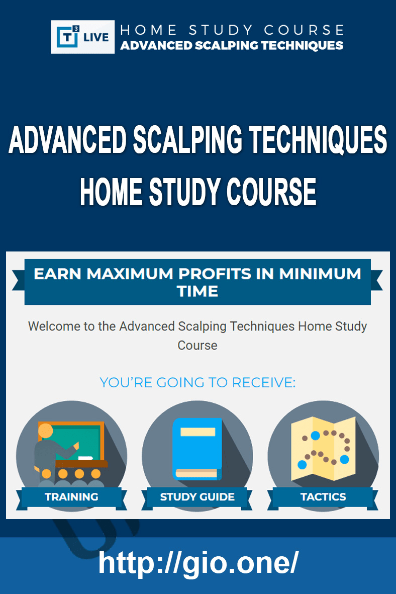 Advanced Scalping Techniques Home Study Course - Infusionsoft