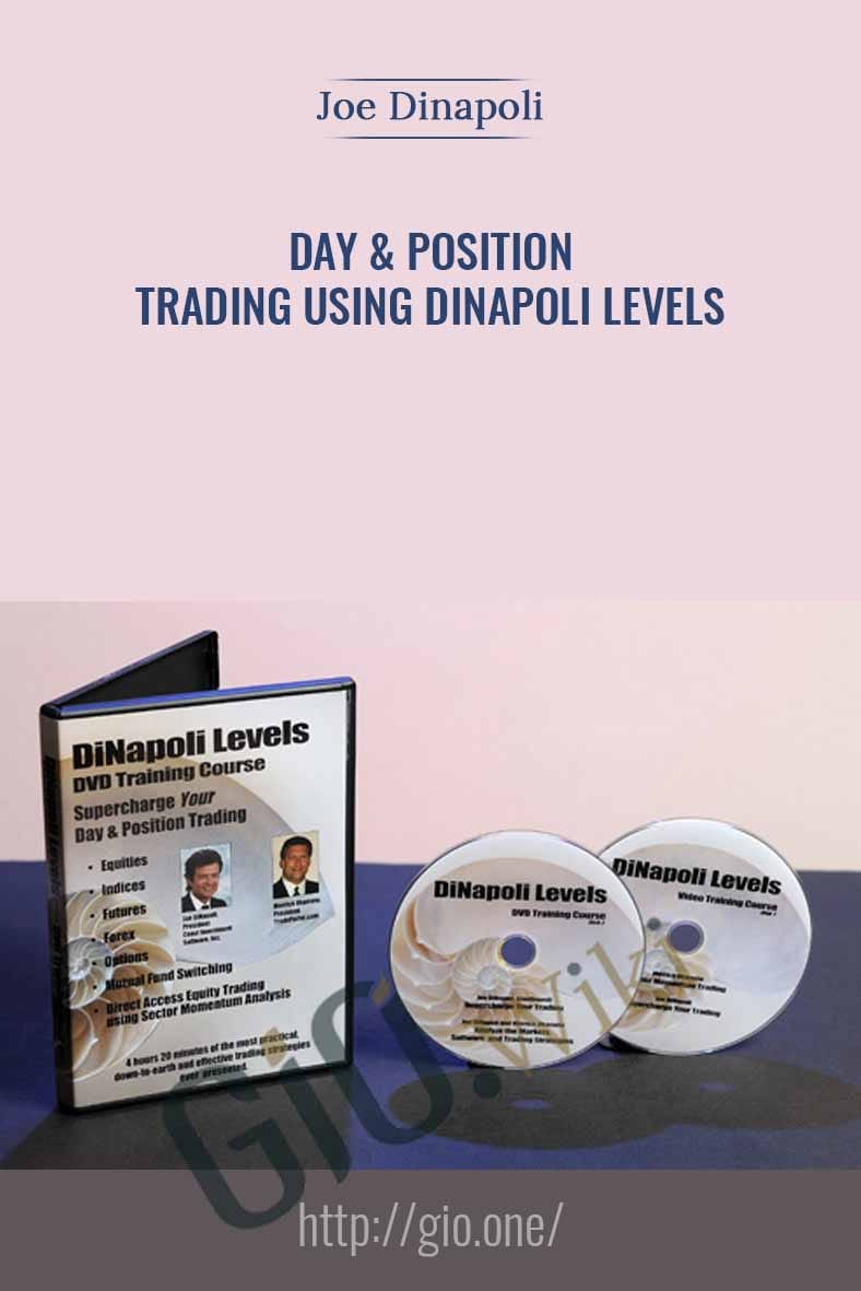 Day & Position Trading Using DiNapoli Levels - Joe Dinapoli