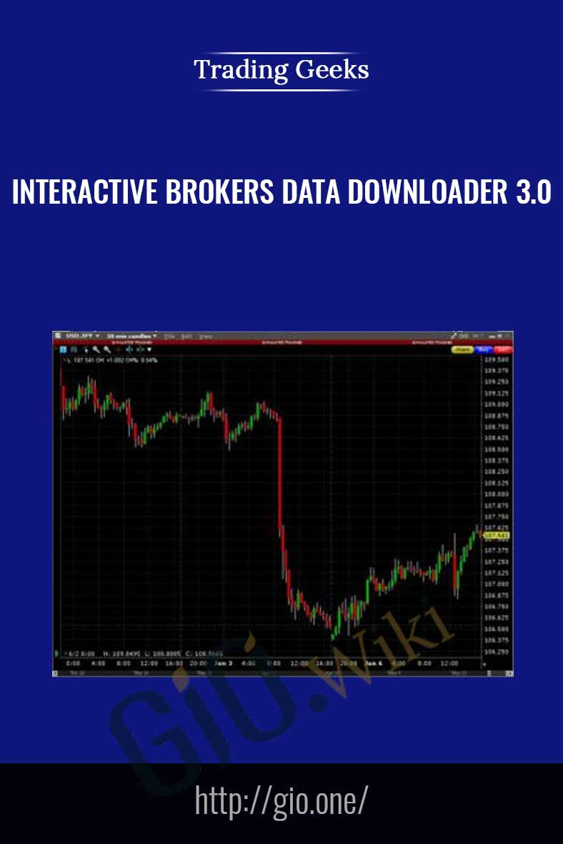 Interactive Brokers Data Downloader 3.0 - Trading Geeks