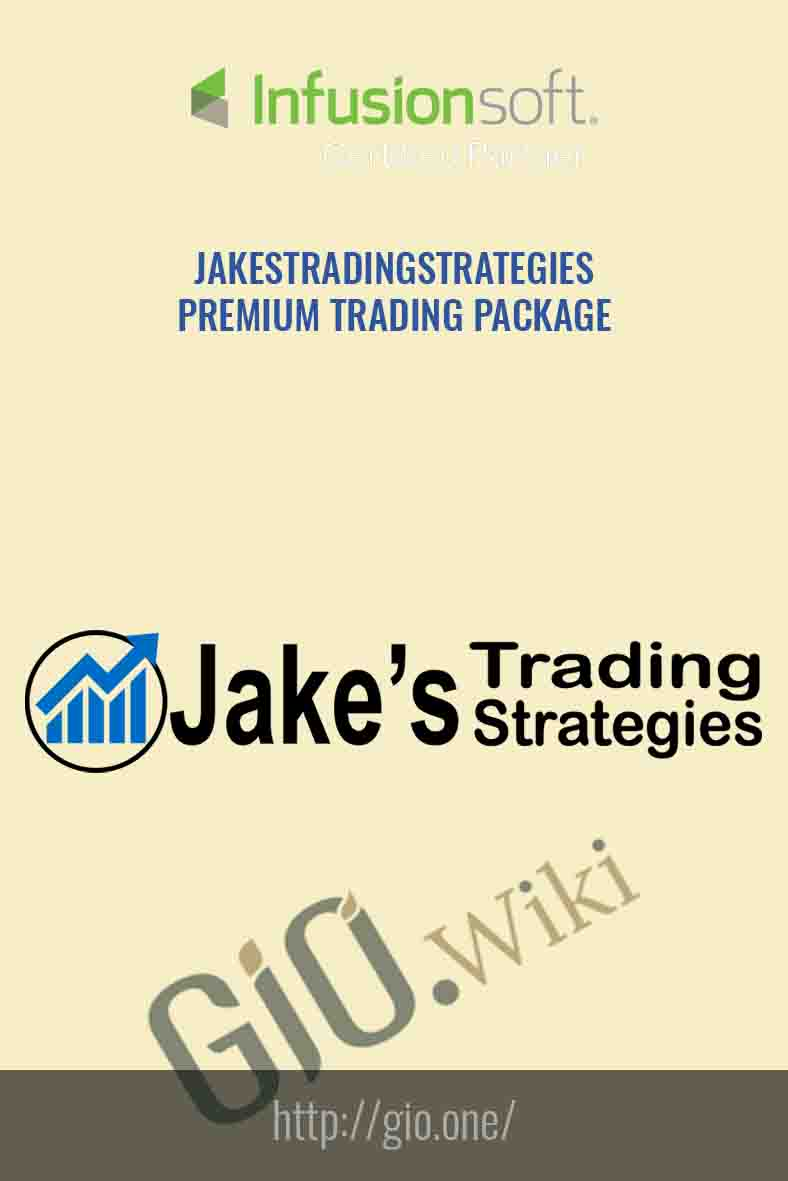 Premium Trading Package - JakesTradingStrategies