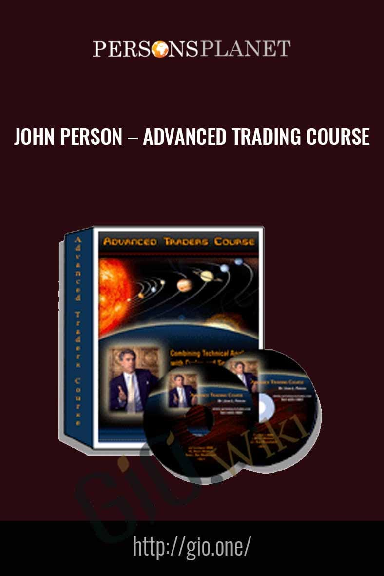 Advanced Trading Course - John Person