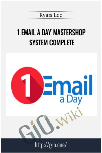 1 Email a Day Mastershop System Complete – Ryan Lee