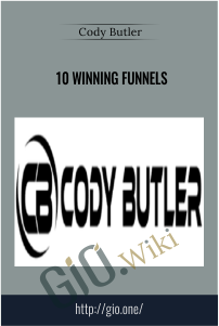 Only $42, courses 10 Winning Funnels – Cody Butler