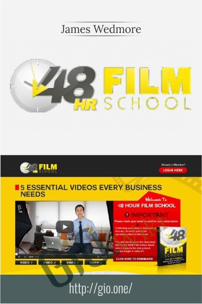 48 Hour Film School - James Wedmore