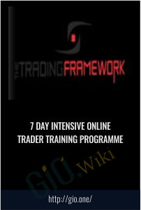 7 DAY INTENSIVE ONLINE TRADER TRAINING PROGRAMME
