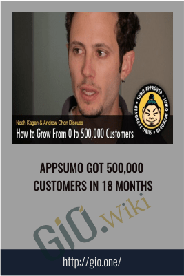 AppSumo got 500,000 customers in 18 months - AppSumo