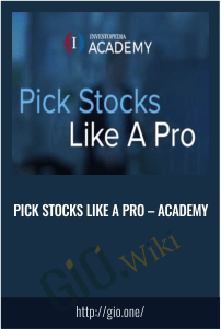 Pick Stocks Like A Pro - Academy