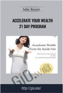 Accelerate Your Wealth 21 day program - Julie Renee