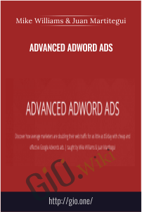 Advanced Adword Ads – Mike Williams & Juan Martitegui