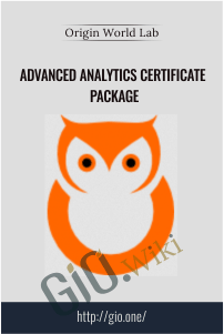 Advanced Analytics Certificate Package –  Origin World Lab