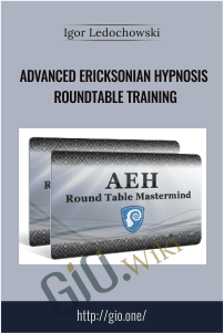 Advanced Ericksonian Hypnosis Roundtable Training