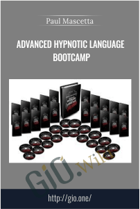 Advanced Hypnotic Language Bootcamp – Paul Mascetta