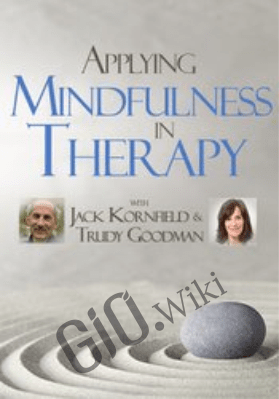 Applying Mindfulness in Therapy with Jack Kornfield and Trudy Goodman - Jack Kornfield &  Trudy Goodman
