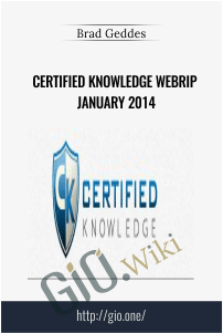 Certified Knowledge – Brad Geddes