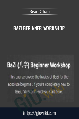BaZi Beginner Workshop - Sean Chan
