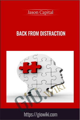Back From Distraction - Don Baker