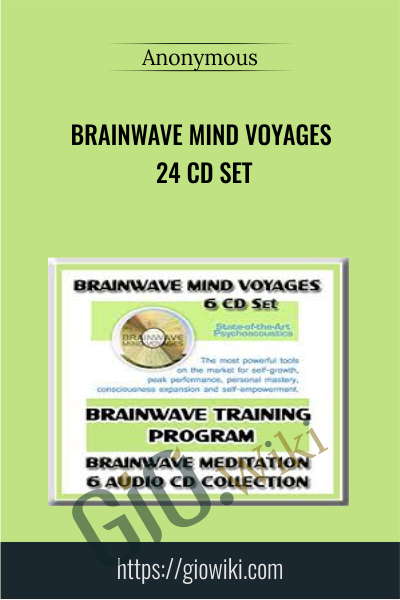 Brainwave Mind Voyages 24 CD Set