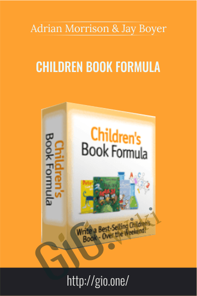 Children Book Formul – Adrian Morrison And Jay Boyer