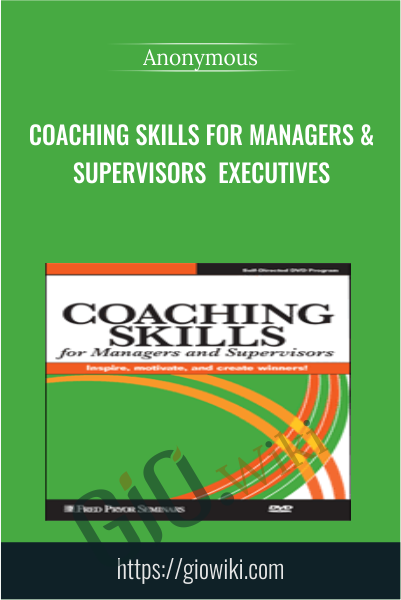 Coaching Skills for Managers & Supervisors