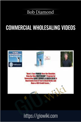 Commercial Wholesaling Videos – Bob Diamond