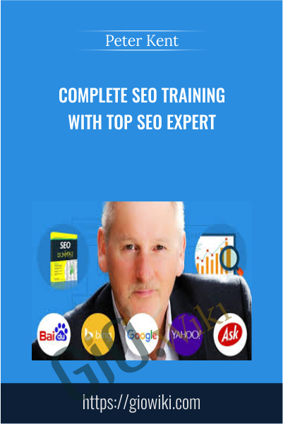 Complete SEO Training With Top SEO Expert Peter Kent! - Peter Kent