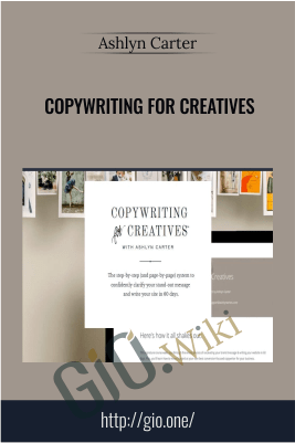Copywriting For Creatives - Ashlyn Carter