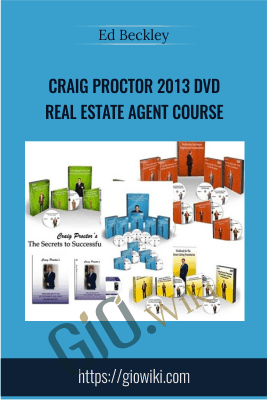 Craig Proctor 2013 DVD Real Estate Agent Course - Ed Beckley