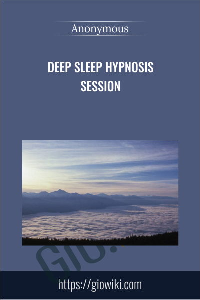 Deep Sleep Hypnosis Session