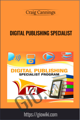 Digital Publishing Specialist - Craig Cannings