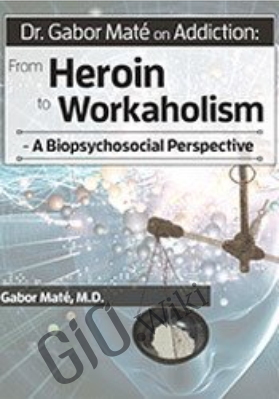 Dr. Gabor Maté on Addiction: From Heroin to Workaholism - A Biopsychosocial Perspective - Gabor Maté