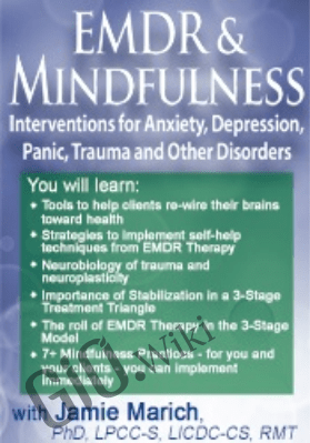 EMDR & Mindfulness: Interventions for Anxiety, Depression, Panic, Trauma, and Other Disorders - Jamie Marich