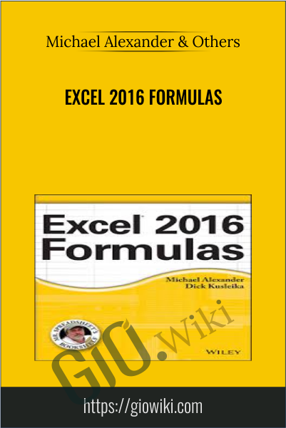 Excel 2016 Formulas - Michael Alexander & Others