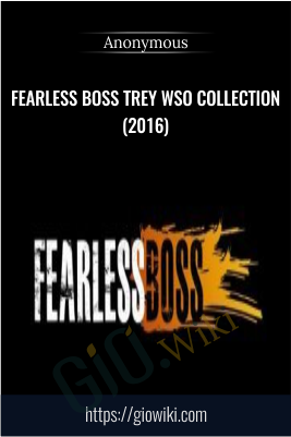 Fearless Boss Trey WSO Collection(2016)