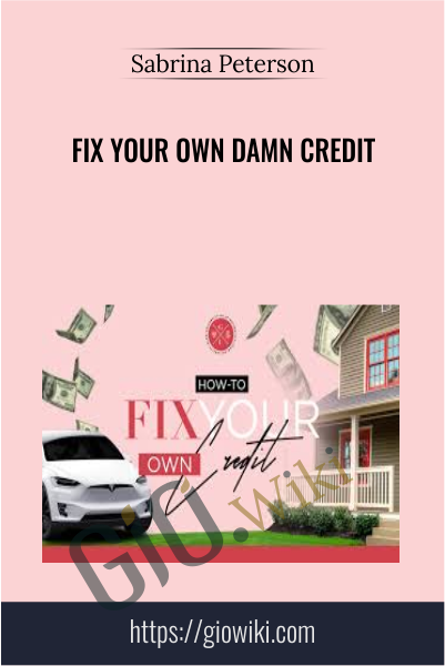 Fix Your Own Damn Credit - Sabrina Peterson
