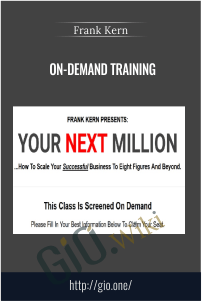 On-Demand Training – Frank Kern