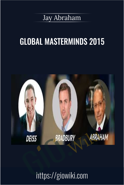 Global Masterminds 2015 - Jay Abraham