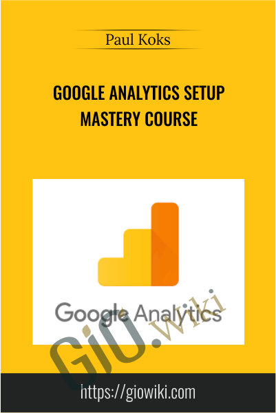 Google Analytics Setup Mastery Course - Paul Koks