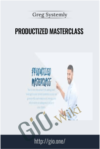 Productized Masterclass - Greg Systemly