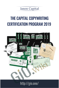 The Capital Copywriting Certification Program 2019 – Jason Capital