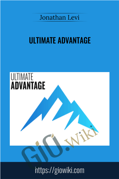Ultimate Advantage - Jonathan Levi