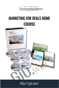 Marketing for Deals Home Course – FortuneBuilders
