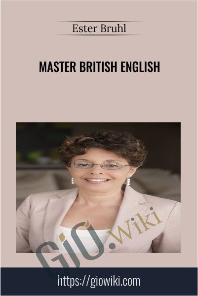 Master British English -  Ester Bruhl